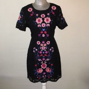 Romeo & Juliet black lace dress